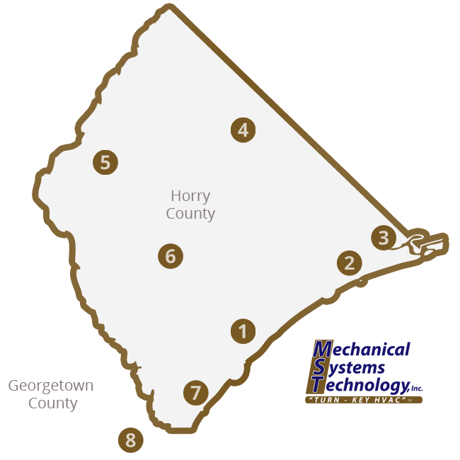 MST SERVICE MAP